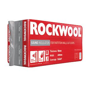 Rockwool Sound Insulation Slab 100mm | Wickes.co.uk