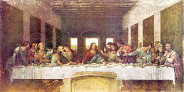 Acrylglasbild Leonardo da Vinci - Das letzte Abendmahl - 220 x 110cm - Premiumqualität - Renaissance, Abendmahl, Jesus, Jünger, Tisch, Tafel, Religion, christlich, neues Testamen.. - MADE IN GERMANY - ART-GALERIE-SHOPde
