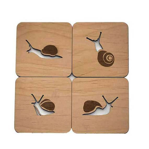Hey, I found this really awesome Etsy listing at https://www.etsy.com/uk/listing/191023379/snails-laser-cut-wood-coasters-set-of-4