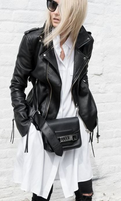 There are so many ways to wear a leather jacket! It's quickly starting to cool down, so you know it's time to pull them out. Leather jackets are a closet must-have and can go with literally anything whether you're fresh out of the gym or off to a...