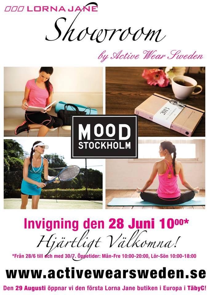 Igår var det invigning för Active Wear Sweden som jobbar med märket Lorna Jane