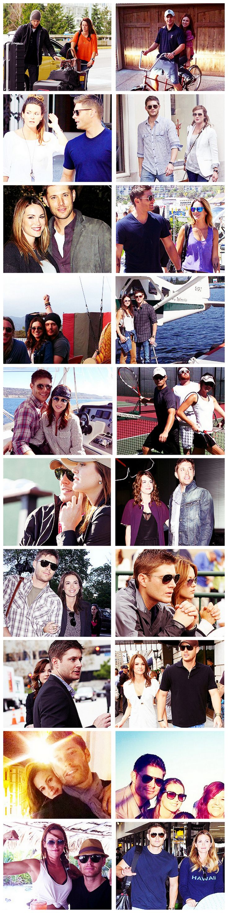 Jensen and Danneel Ackles