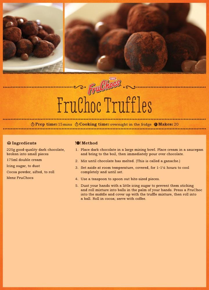FruChoc Truffles