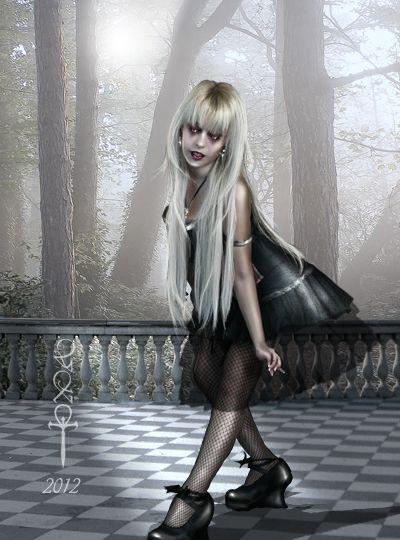 Bailando con su sombra by vampirekingdom