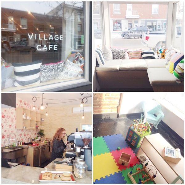 Village Café rue Beaubien | À la mode Montréal