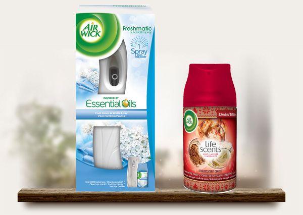 Vyhrajte Air Wick Freshmatic osviežovač vzduchu   náplň