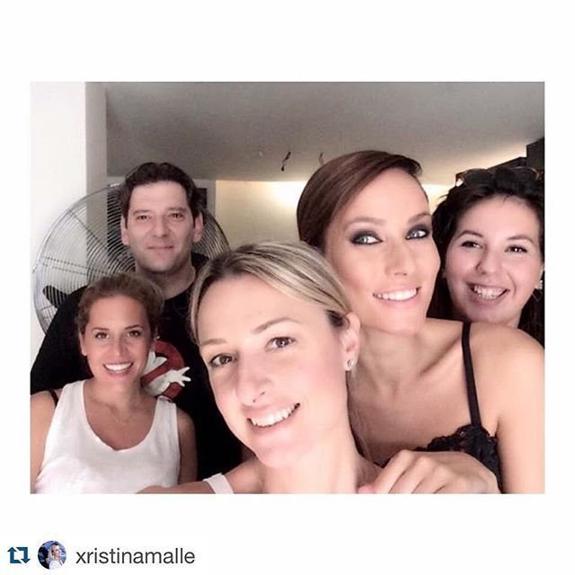 #Repost @xristinamalle with @repostapp. ・・・ Happy faces , happy people , happy moments ... Backstage autumn/winter 2016 ... #handmade #bags #photoshoot #newcollection #aw2016 #christinamalle #christinamalle_bags #malle_bags #evileyeproject