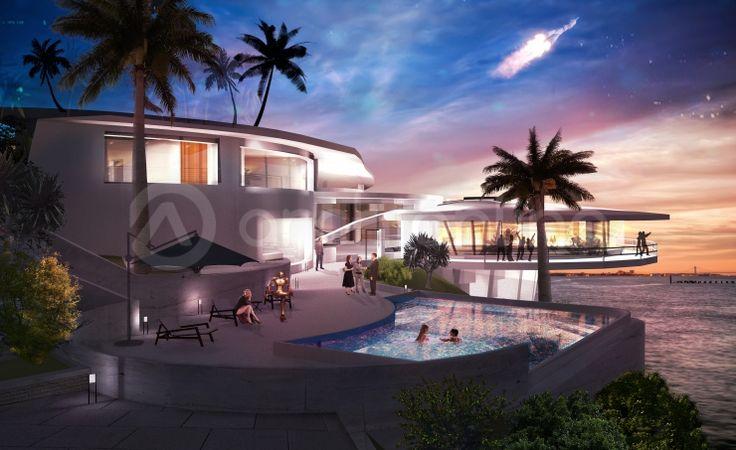 Maison ironman plan de maison de super h ros par - Plan de maison luxueuse ...