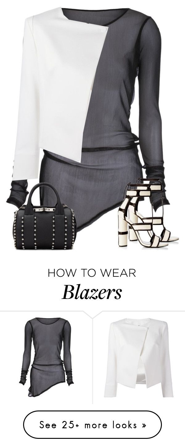 """""""Untitled #1941"""" by iammelissa on Polyvore featuring Tom Ford, Alexander Wang and Plein Sud Jeanius"""