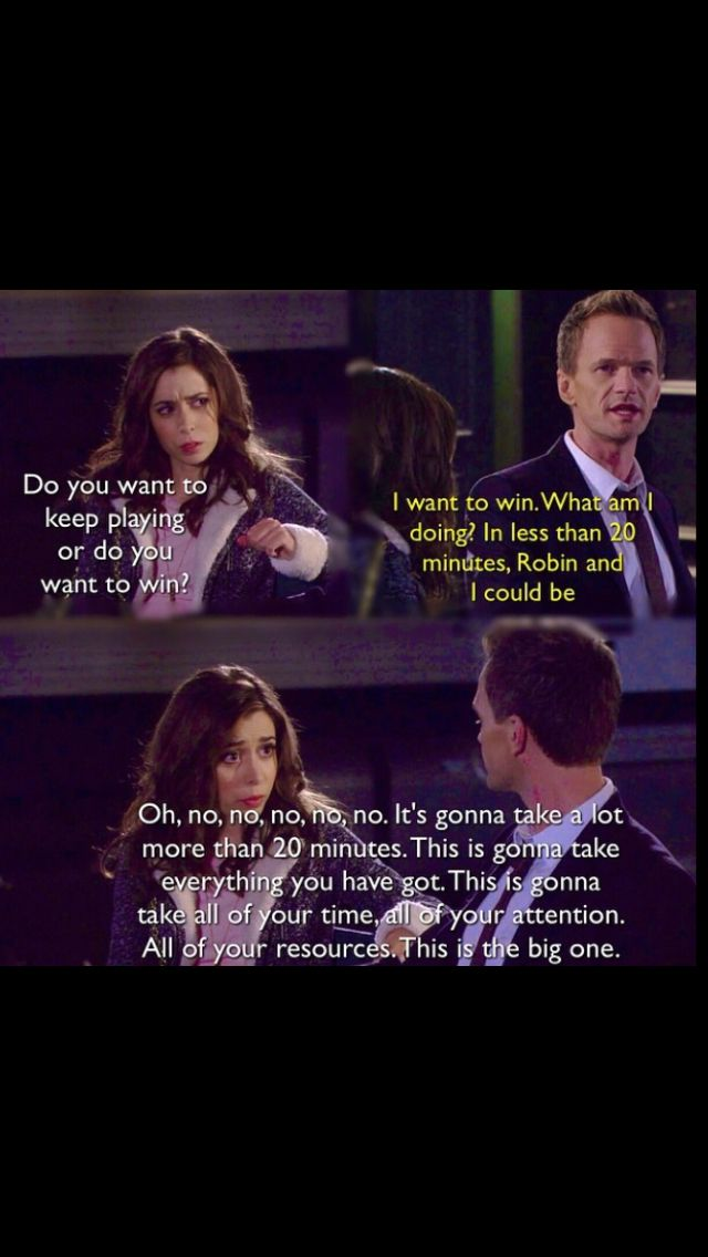 Tracy and Barney . How I met your mother
