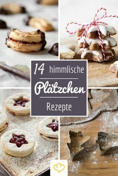 14 himmlische Rezepte für Plätzchen wie von Oma! Die dürfen in keiner Keksdosen fehlen!