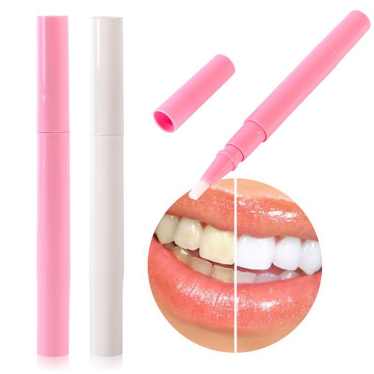 New Tooth Whitening Gel Pen Whitener Cleaning Bleaching Kits Dental Teeth White Pink L3