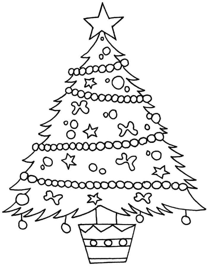 1001 Ideas De Dibujos Navidenos Para Colorear Arbol De Navidad Para Colorear Dibujo Del Arbol De Navidad Dibujos Navidenos