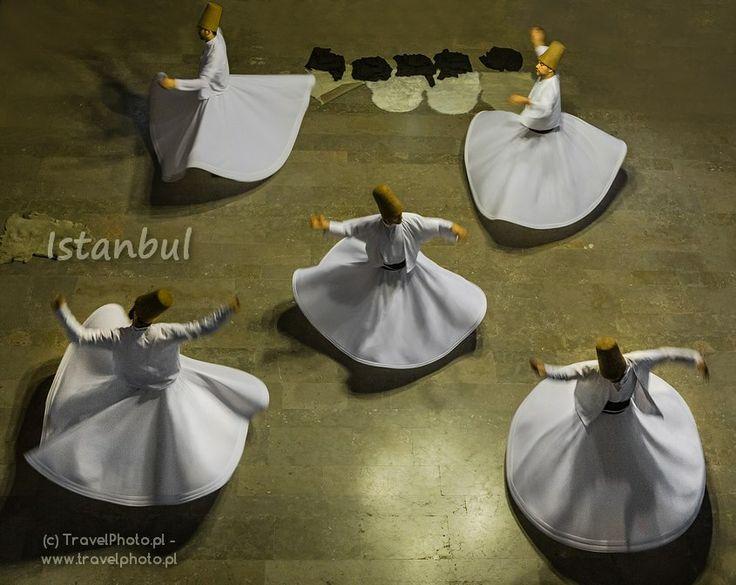 Turkey - Istanbul (Turcja, Stanbuł) #Istanbul The Sufi Whirling Dervishes of Istanbul (derwisze)  - blog  http://malypodroznik.pl/swiat/turcja2014/tur14_blog00.htm