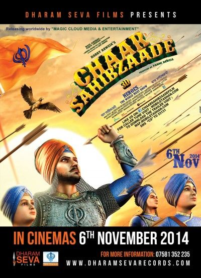 #AsiansUK support the release of the movie #ChaarSahibzaade #XclusivePR