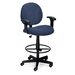 Ergonomic Stool with Arms - 56432, NBF Office Chairs,