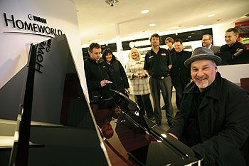 Dawsons Manchester Homeworld opening with Paul Carrack
