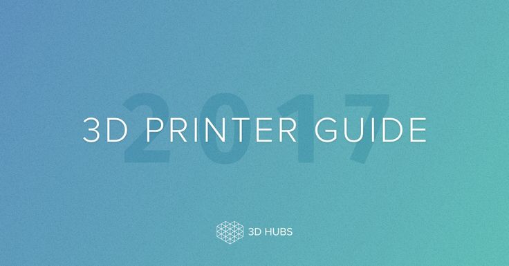 Looking for the best 3D Printers? The 3D Hubs 2017 3D Printer Guide is the most comprehensive resource today, based on 8624 reviews from verified 3D printer owners who told us the good, bad and the ugly about all the 3D Printers currently on the market.
