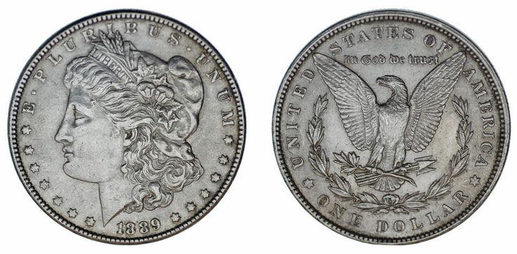1 SILVER US DOLLAR PHILADELPHIA /1 DÓLAR MORGAN FILADELFIA PLATA. 1889. VF+/MBC+
