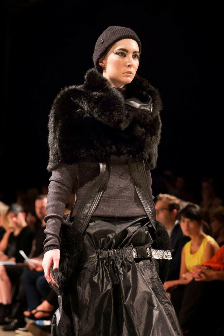 FOUREYES - New Zealand Street Style Fashion Blog: FOUREYES ON WHITECLIFFE FASHION SHOW 2013 PART ONE