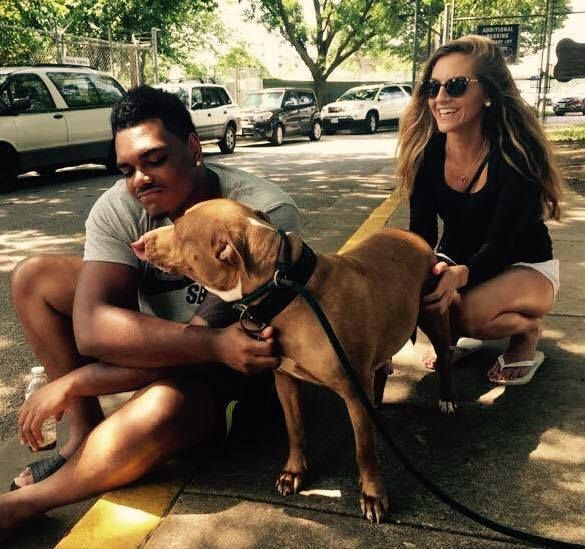 """Ronnie Stanley, superstar offensive tackle from the Ravens goes to shelter and requests to adopt """"not-so-adoptable"""" dog"""