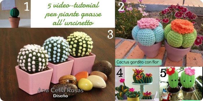 Piante Uncinetto Pinterest: Schema gratis piante grasse ...