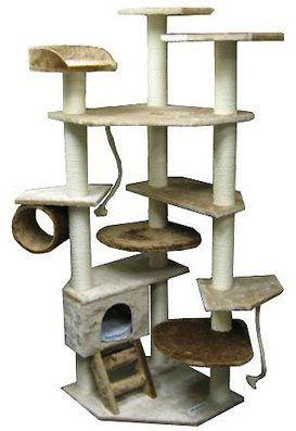 Multilevel Cat Climber Tree