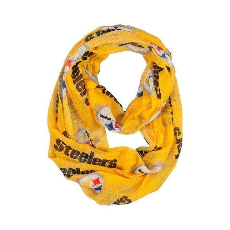 pittsburgh steelers scarf - Pittsburgh Steelers Merchandise