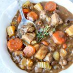 Traditional Irish lamb stew made with Guinness dark beer. This is a very easy hearty meal that is perfect for the cold winter days.