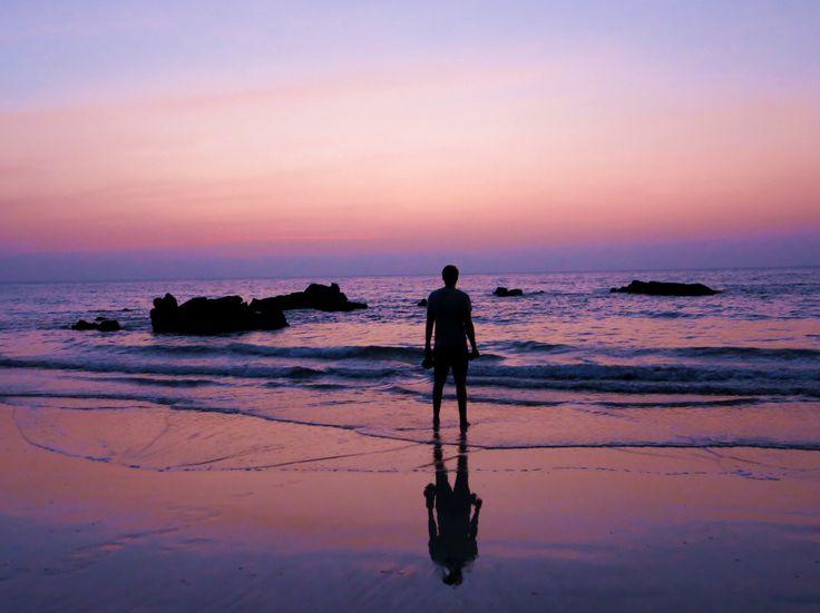 Strand von Ngwe Saung in Myanmar