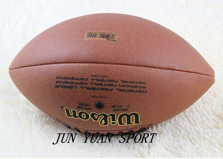 Sport en plein air ballon De Rugby Football Américain Balle PU Taille 9 pour les Entraînements Et Matchs de Haute Qualité Football Américain Ballon De Rugby balle
