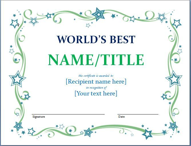 Mer enn 25 bra ideer om Diplome Du Meilleur Papa på Pinterest - employee award certificate templates free