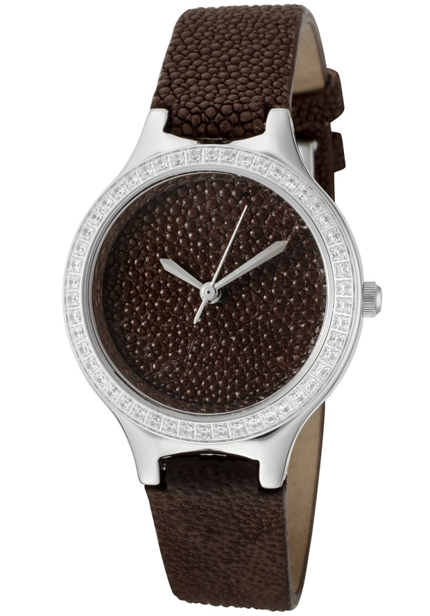 Price:$159.38 #watches Croton CN207078BRBR, With a royal appeal, this Croton timepiece has a regal design and adds a refined look to your wardrobe.