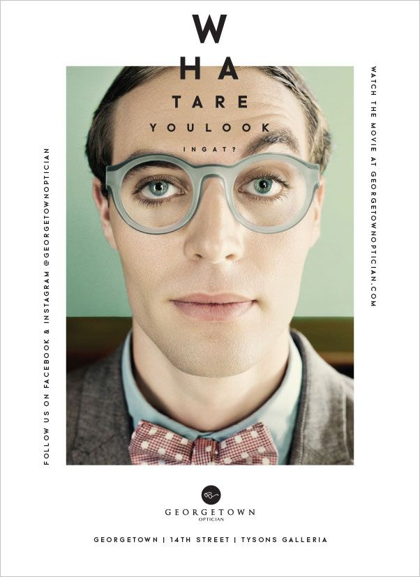 Poster by Design Army, inspired by Wes Anderson | Georgetown Optician_6
