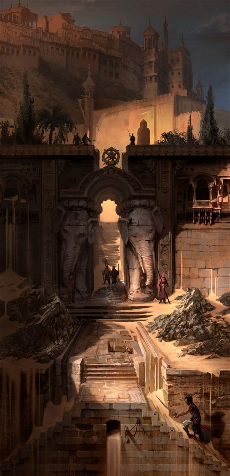 """mad-moiselle-bulle: """" Prince Of Persia Artwork. """""""