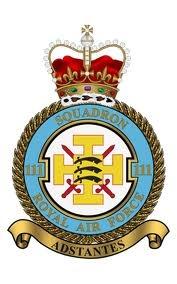 111 squadron RAF   crest