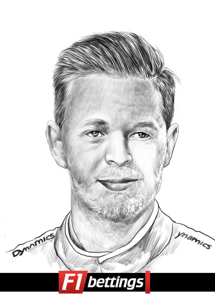 F1 driver Kevin Magnussen f1-bettings.com