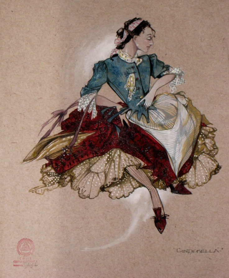 CINDERELLA - costume design by Gregg Barnes