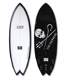 :: global surf industries - 7S surfboards - super fish sea shepherd model ::