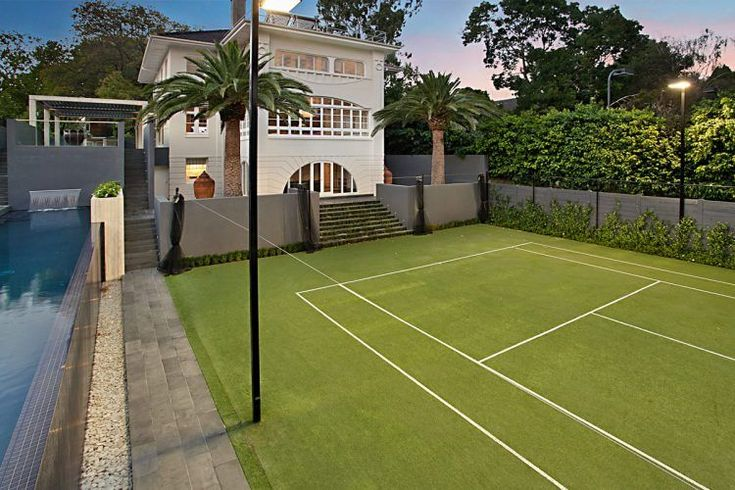 25 best ideas about backyard tennis court on pinterest