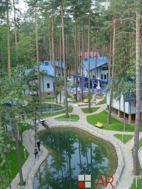 Все краски лета, посёлок из домов 150 кв.м