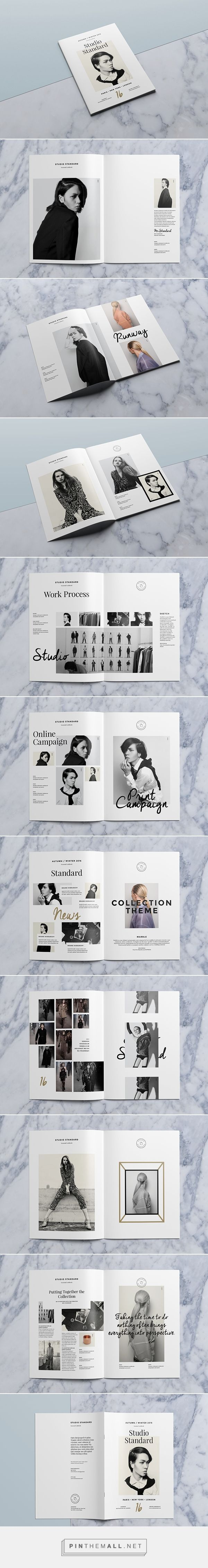 Studio Lookbook on Behance - created via http://pinthemall.net: