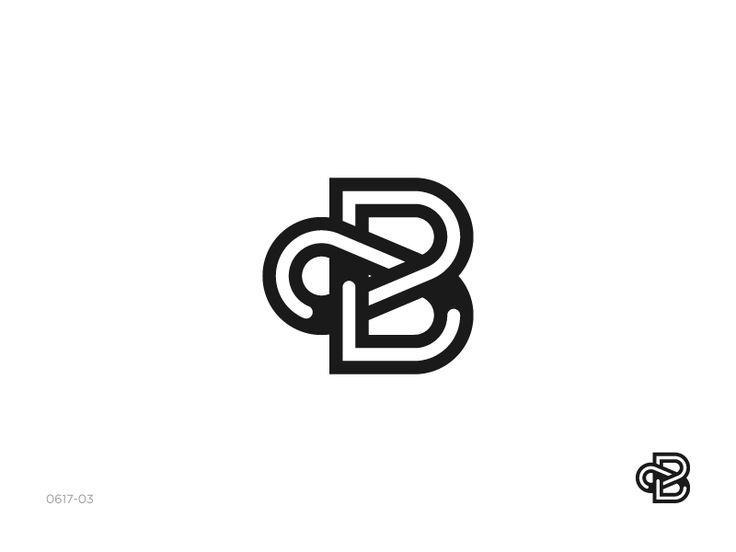 B monogram / logo desigj by Satriyo Atmojo