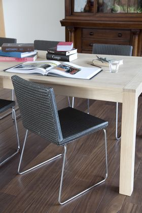 Vincent Sheppard | Life Stories of Lloyd Loom | John dining chair & Maine table