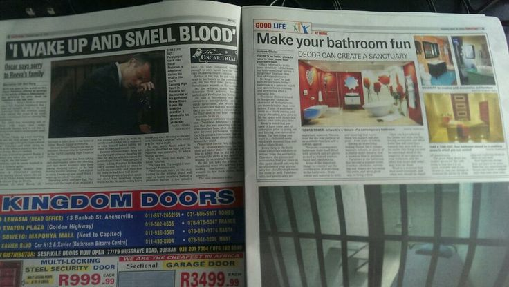 Layout blues for Sowetan A newspaper covering the Oscar Pistorius trial made an incredibly unfortunate layout choice.