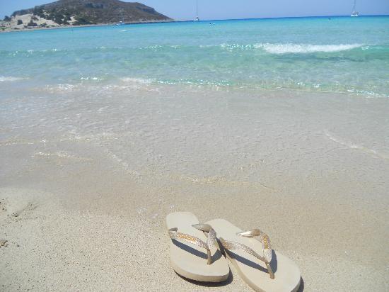 Simos Beach,Elafonisos, Greece.