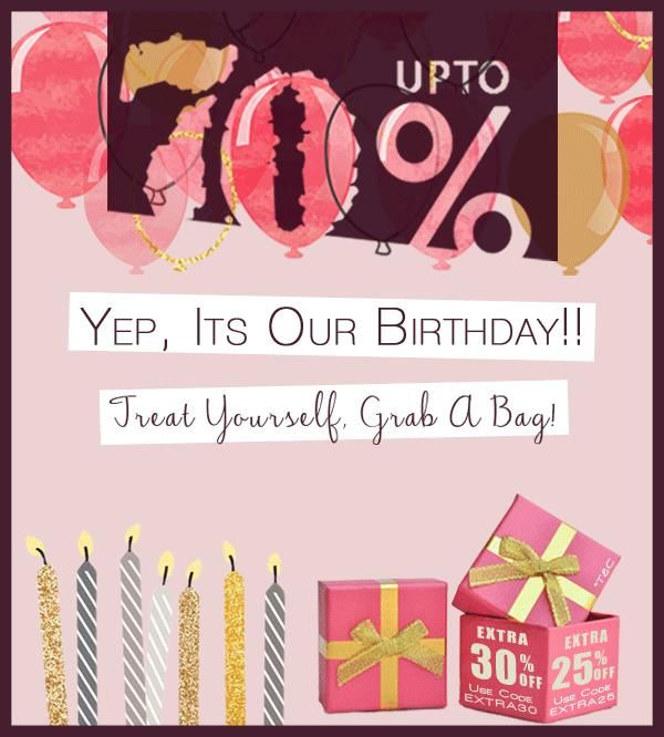 Happpiiiieee Birthday to Us!! We have turned 7, and sure we are treating You!!! :)  Visit us - www.fashionandyou.com