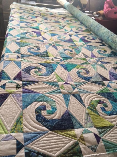 Best 25+ Ocean quilt ideas on Pinterest   Landscape quilts, Fiber ... : ocean themed quilt patterns - Adamdwight.com