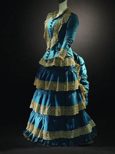 Dress, 1870's From Adafesio - Fripperies and Fobs