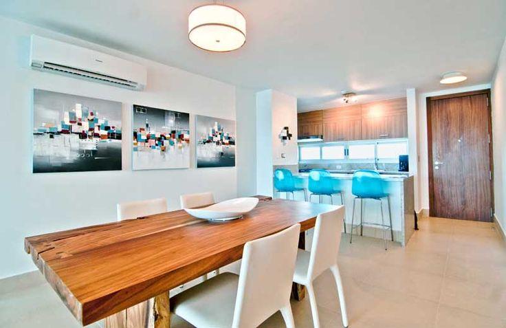 Beach Condo Decor | TLC Design U0026 Decor U2013 White And Wood Beach Condo | Decor  | Pinterest | Dining Room Table, Beach Condo And Beach Condo Decor